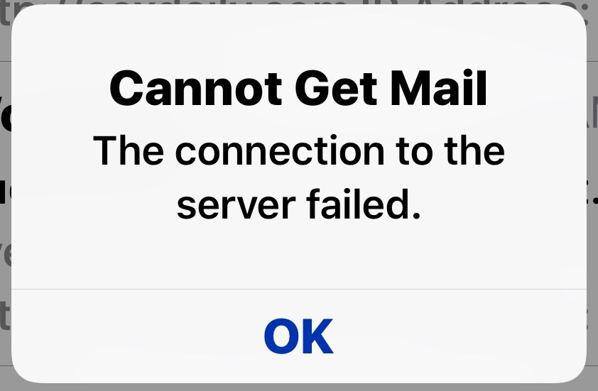 """How to Fix """"Cannot Get Mail"""" Error on iPhone and iPad"""