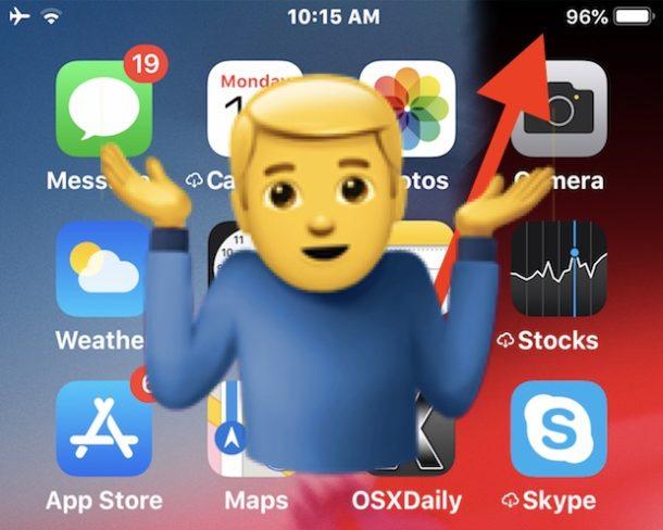 Как проверить статус Bluetooth в iOS 12 и новее