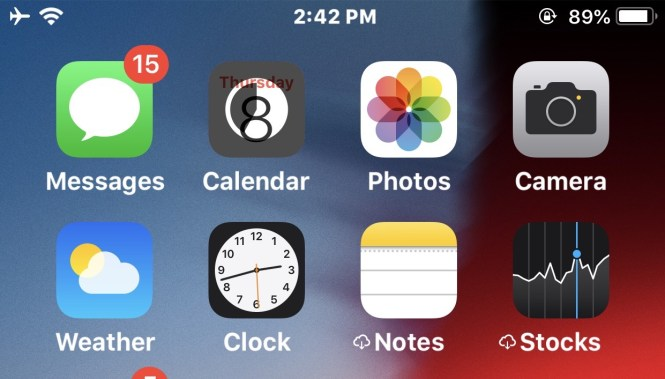 Icloud Symbol Next To S On Iphone Or