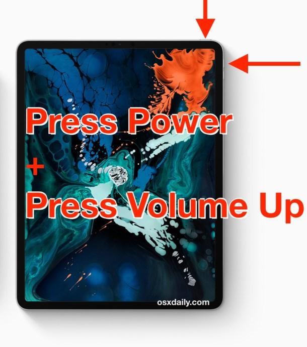 Как делать скриншоты на новом iPad Pro без кнопки Home