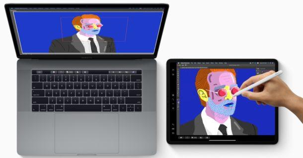 Sidecar для Mac и iPad