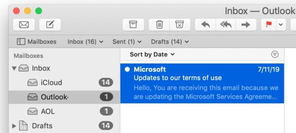 How to mark emails as unread or read on Mail for Mac