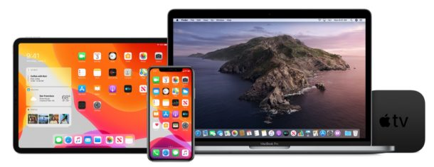 Downloads available for iOS 13 public beta 3, ipadOS 13 public beta 3, MacOS Catalina public beta 3