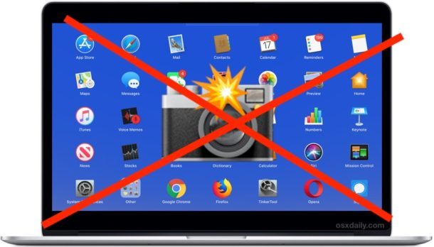 How to Prevent App Camera Access on Mac