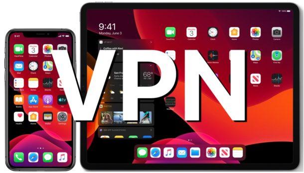 VPN на iPhone или iPad