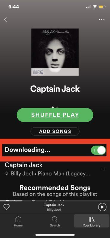 Как скачать одну песню из Spotify