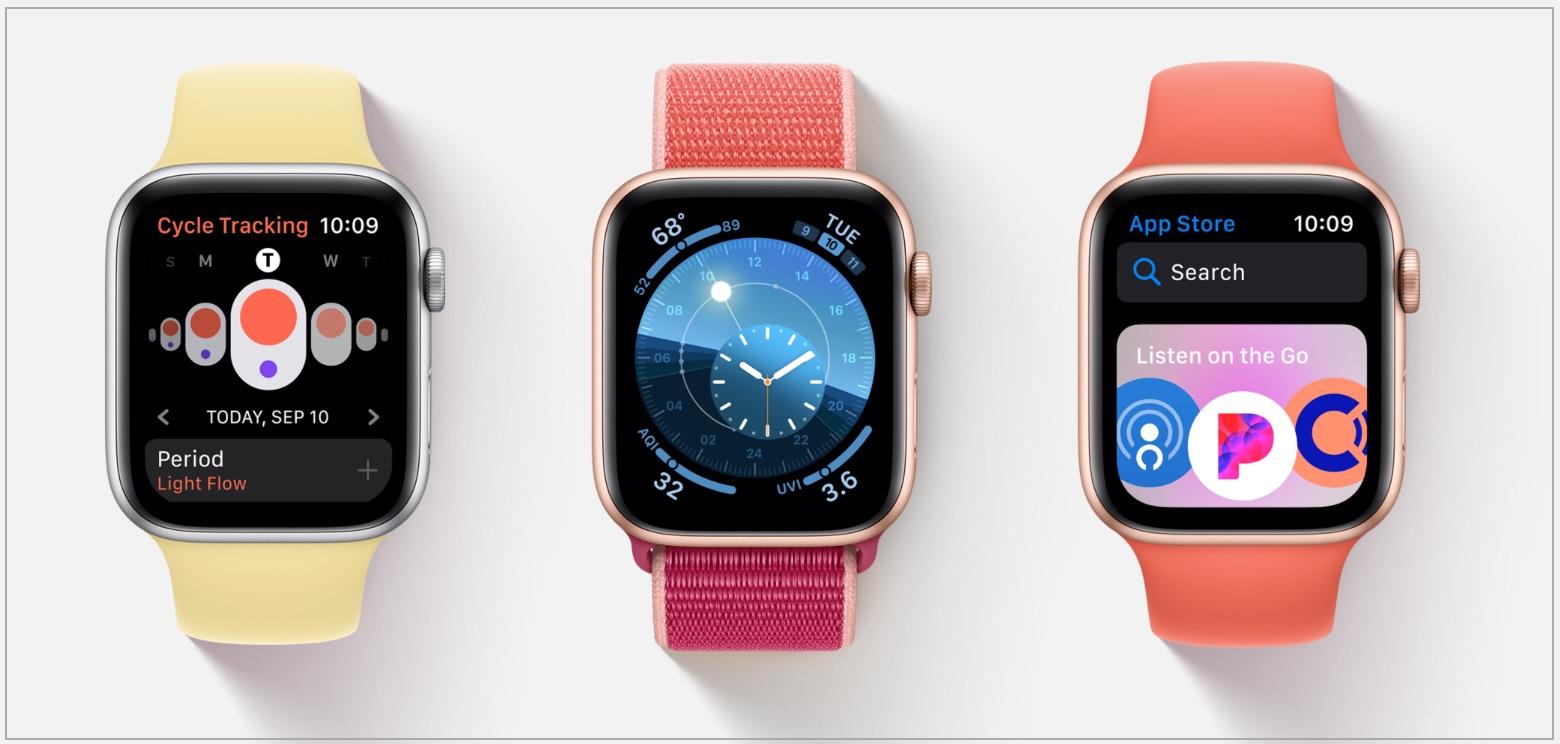 WatchOS 6 Released for Apple Watch