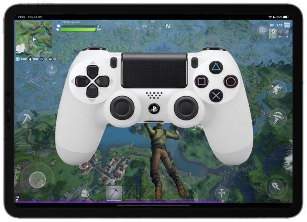 How to use a Playstation 4 controller with iPhone and iPad