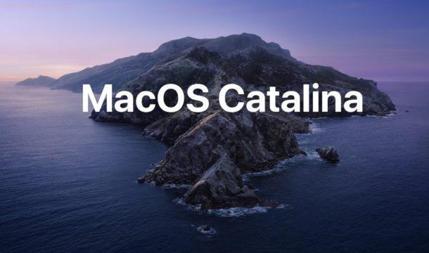 Обновление MacOS Catalina