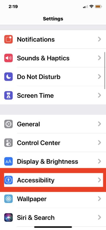 How to disable or enable Auto Brightness on iOS 13 and iPadOS 13 and later