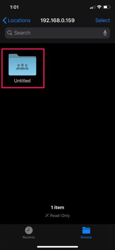 Как получить доступ к общим папкам Windows с iPhone