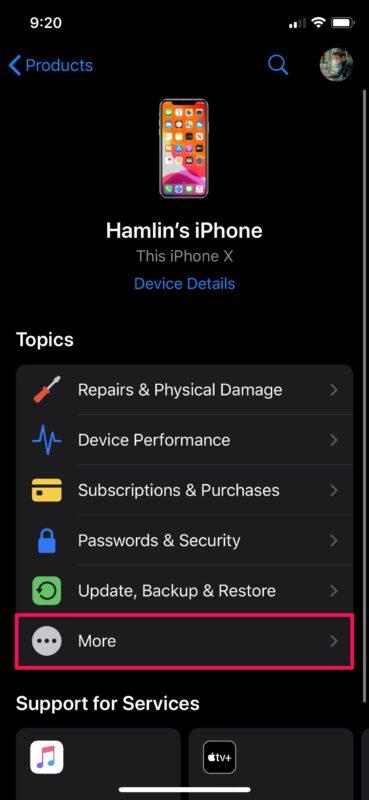 Как общаться со службой поддержки Apple на iPhone
