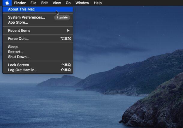 Cómo comprobar el espacio de almacenamiento de Mac