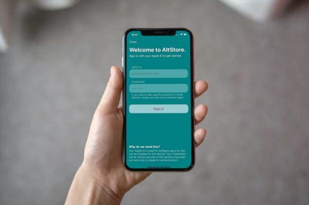 Как установить AltStore на iPhone и iPad
