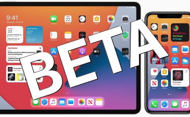 Ios 14 Ipados 14 Public Beta Downloads Now Available To All