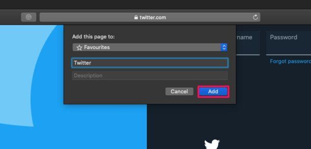 Как добавить сайты на страницу избранного Safari на Mac