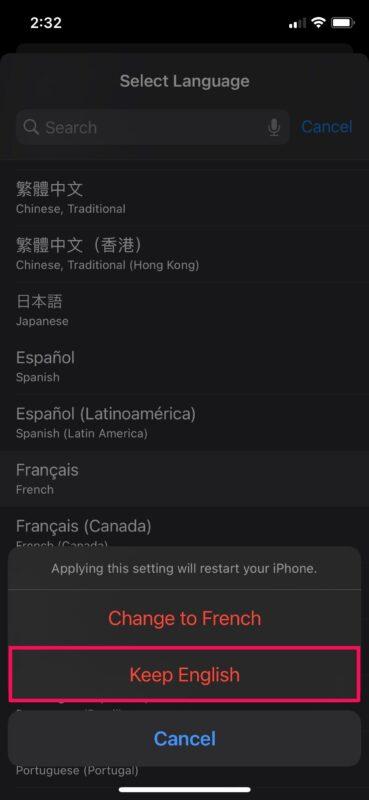 Как установить предпочтительный язык и изменить регион на iPhone