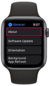 Как проверить версию watchOS на Apple Watch