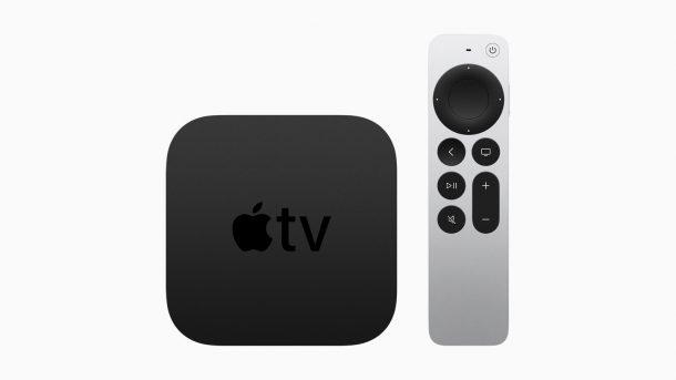 Apple TV с обновленным пультом Siri Remote
