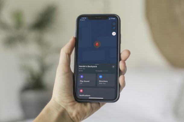Как вручную добавить AirTag, чтобы найти меня на iPhone