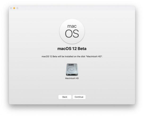 Установите бета-версию macOS 12