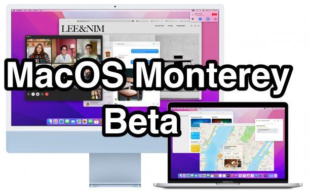 MacOS Монтерей Бета