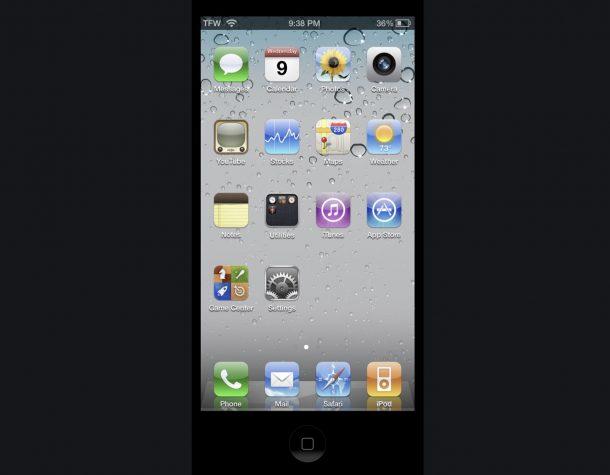 OldOS - это iOS 4 как приложение