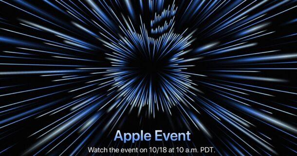 Событие Apple, октябрь 2021 г.