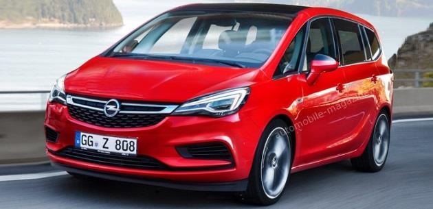 Opel Zafira  Arabalı Sözlük