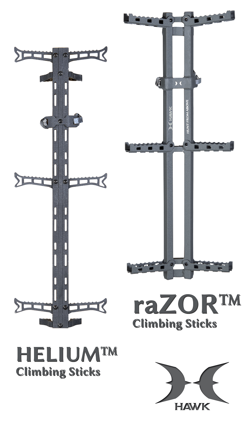 All-New Extreme Performance Climbing Sticks by HAWK