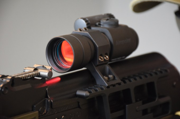 Review The Aimpoint Aco Red Dot Sight Outdoorhub