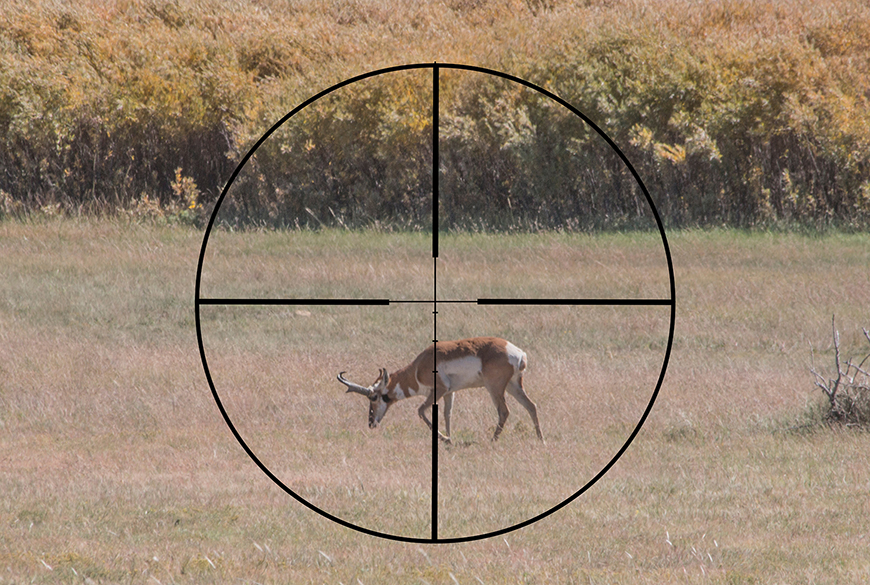 Shooting With The Mann Ballistic Reticle Basics OutdoorHub