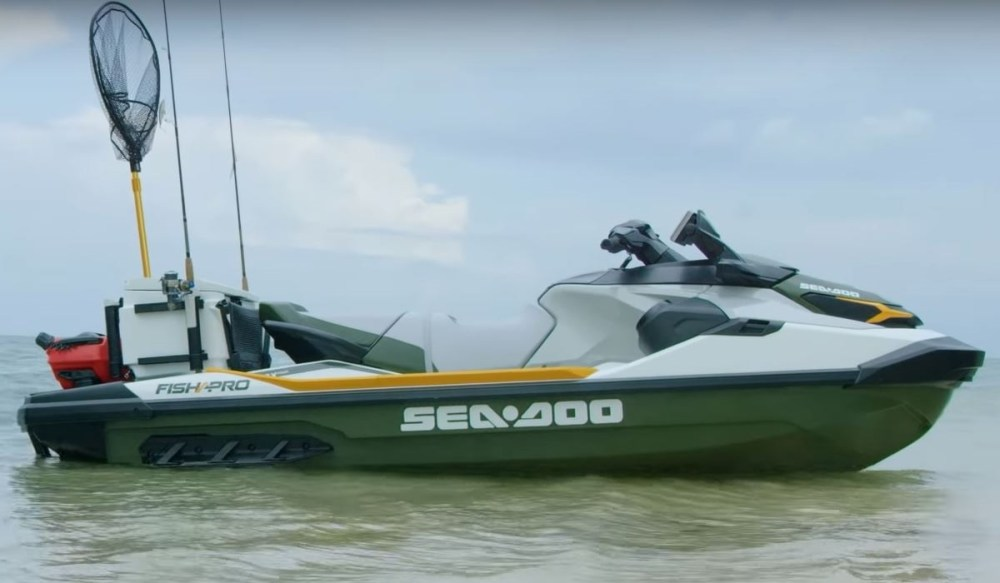 medium resolution of sea doo launches new jet ski specifically geared towards anglers the 2019 sea doo fish pro