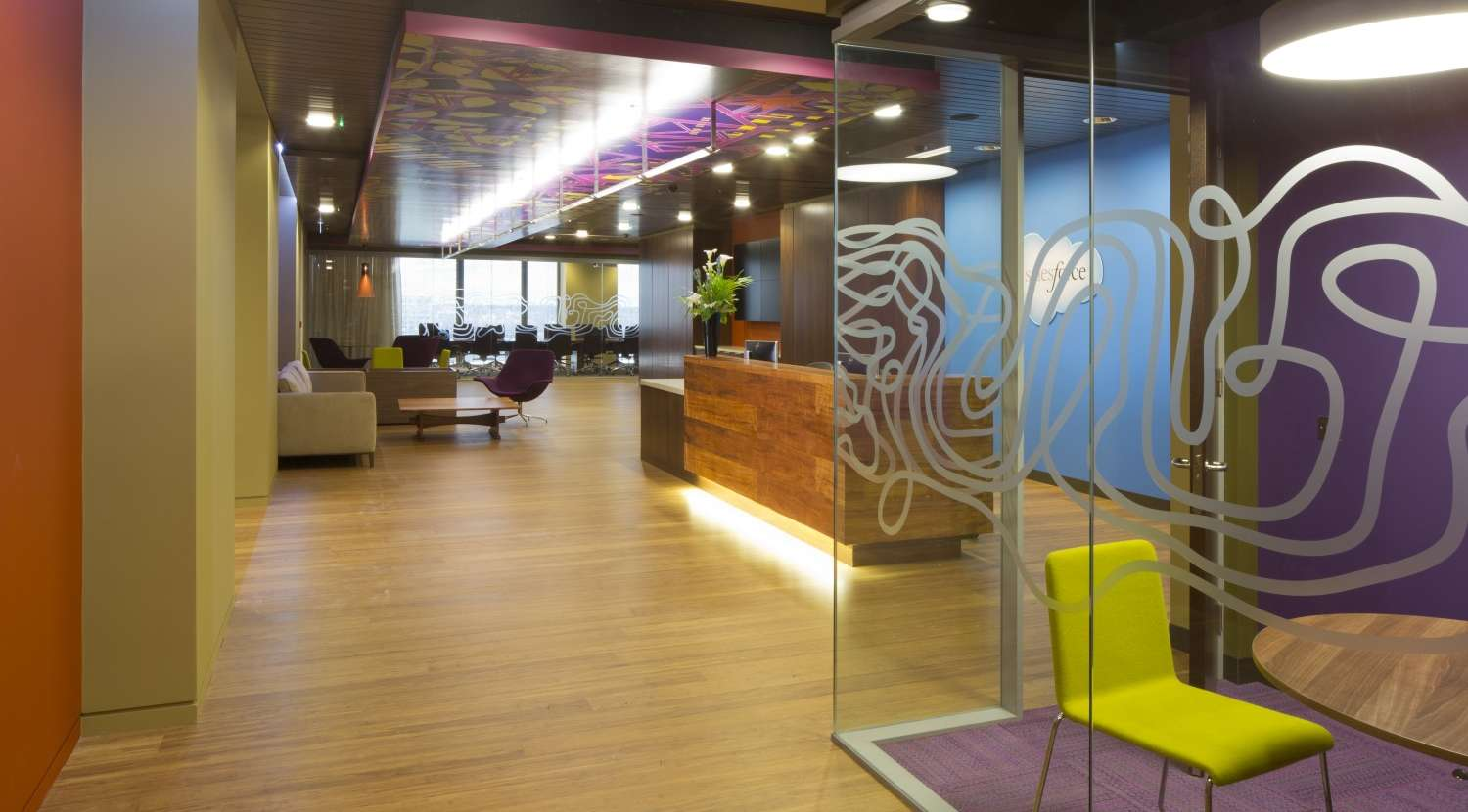 Office fit for Salesforce  Overbury