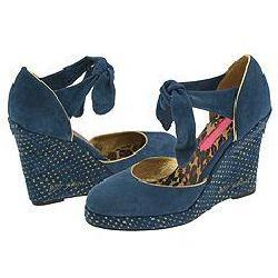 Betsey Johnson Never Blue Suede
