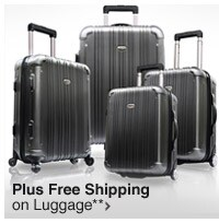 Plus Free Shipping on Luggage**