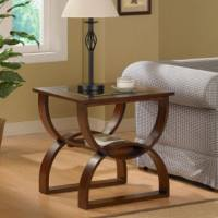 How to Decorate with a Large End Table