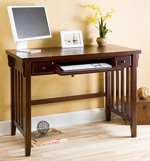 Simple Living Berkeley Computer Desk  Overstock Shopping