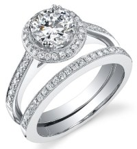 Diamond Men's Wedding Bands