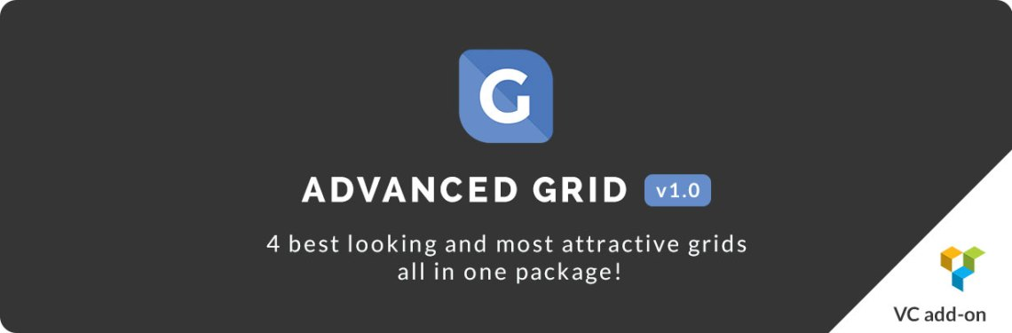 Advanced Grid | Visual Composer add-on 2