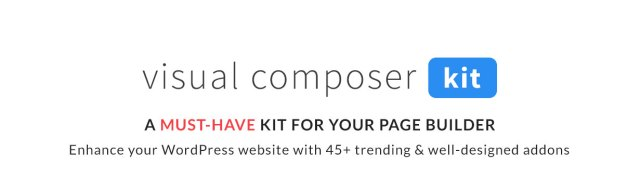 VCKit - WPBakery Page Builder addons collection (formely Visual Composer) - 5