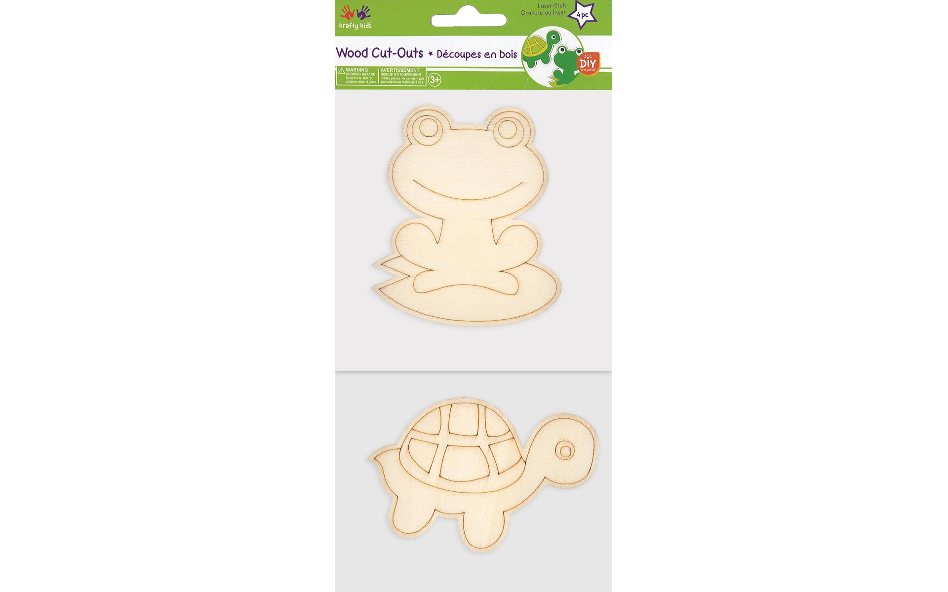 Multicraft Wood Cut Out Pond Pals