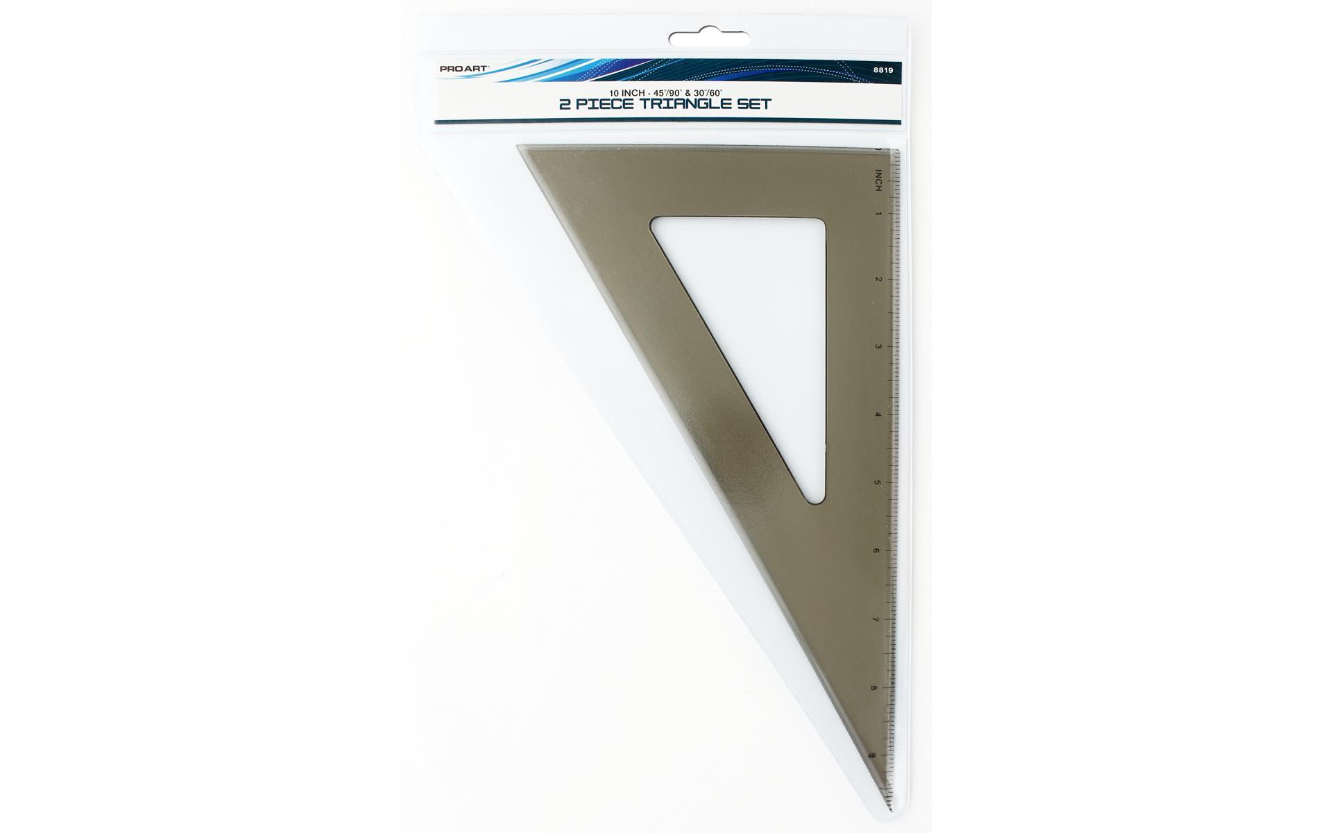 Pro Art Triangle Set 10 45 90 30 60