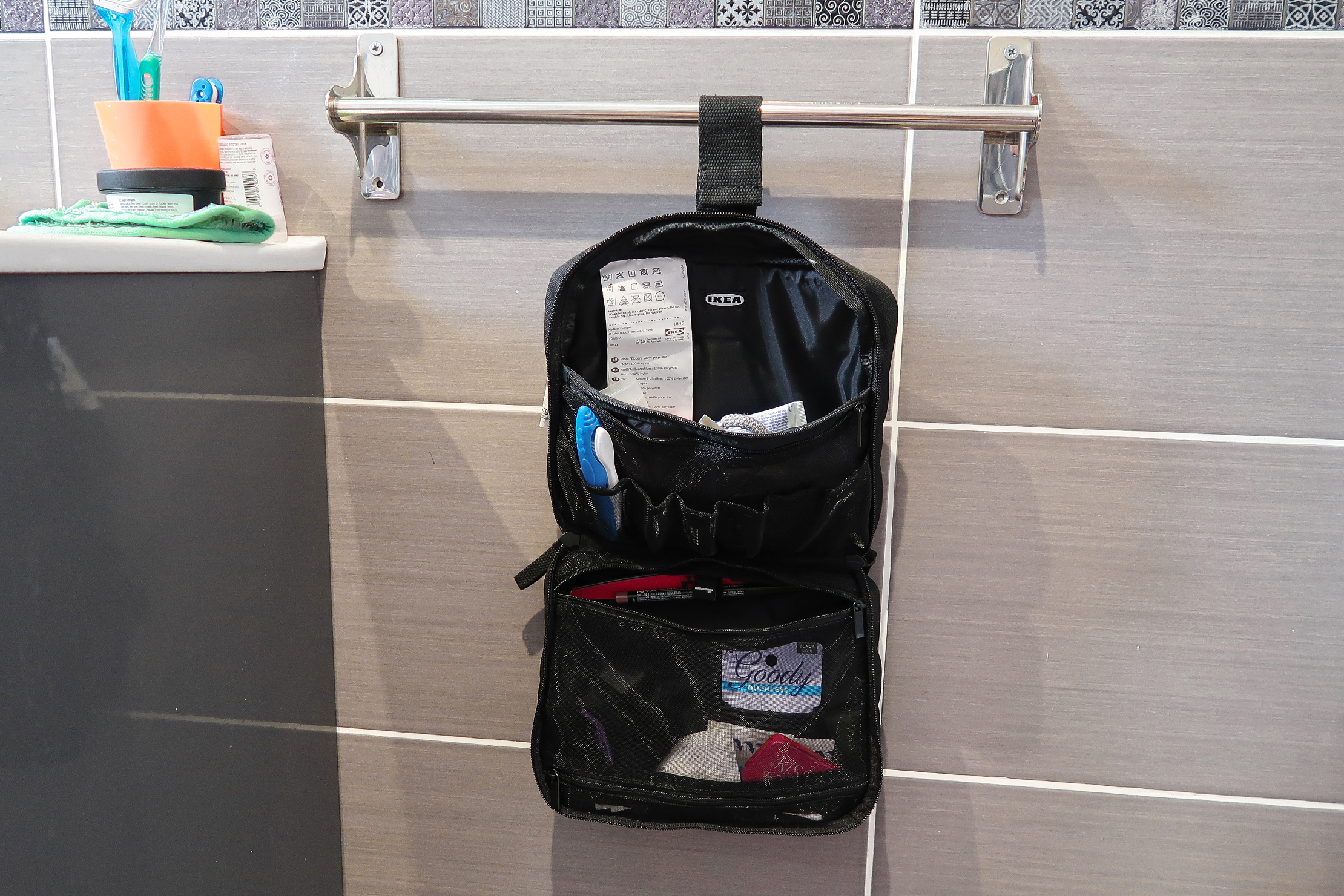 Ikea Forfina Toiletry Bag Review Budget Gear Pack Hacker