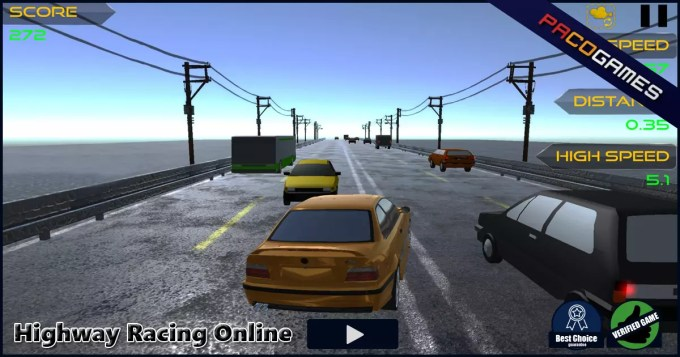Highway Racing Online Play The Game For Free On Pacogames