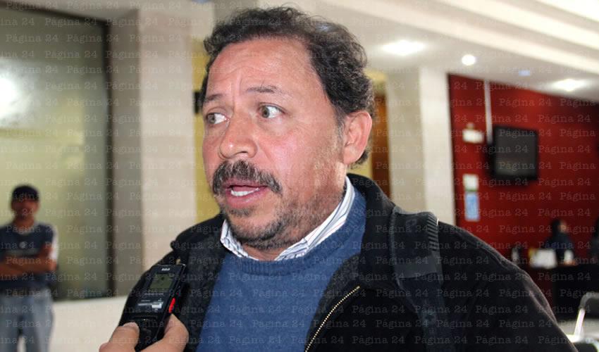 Alejandro Rivera Nieto: Seguiremos trabajando hasta que se vea clarificada la voz de la clase trabajadora (Foto: Rocío Castro Alvarado)