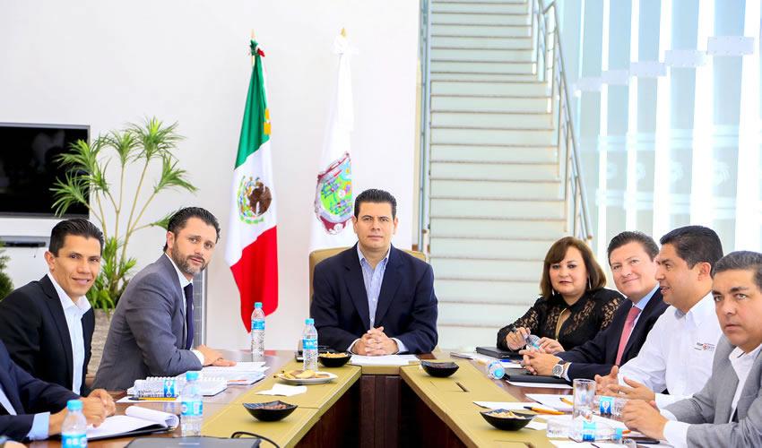 El mandatario se reunió con el comisionado nacional de Áreas Naturales Protegidas (CONANP), Alejandro del Mazo Maza