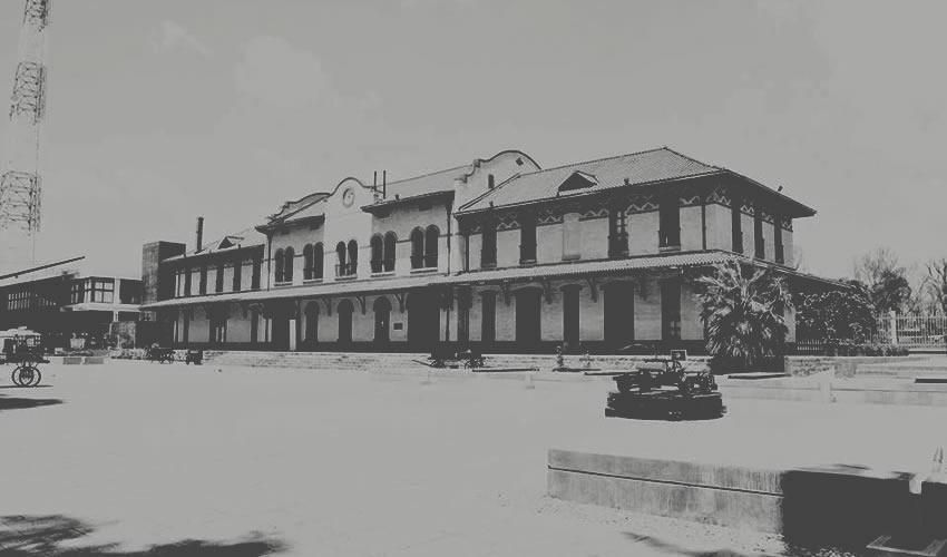 La Estación del Ferrocarril de Aguascalientes