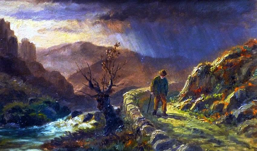 El camino solitario, de Alexander Mann