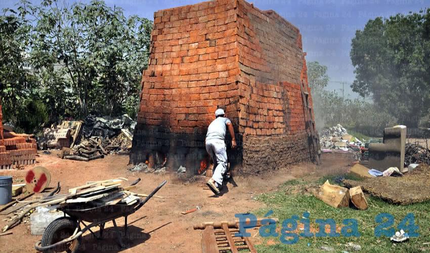 El problema involucra a cerca de 200 ladrilleras que se ubican en los alrededores del fraccionamiento Hacienda Real, que fue construido por la empresa Tierra y Armonía/Foto: Archivo Página 24